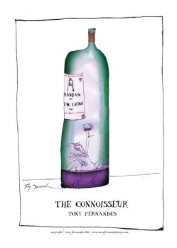 The Connoisseur - signed print